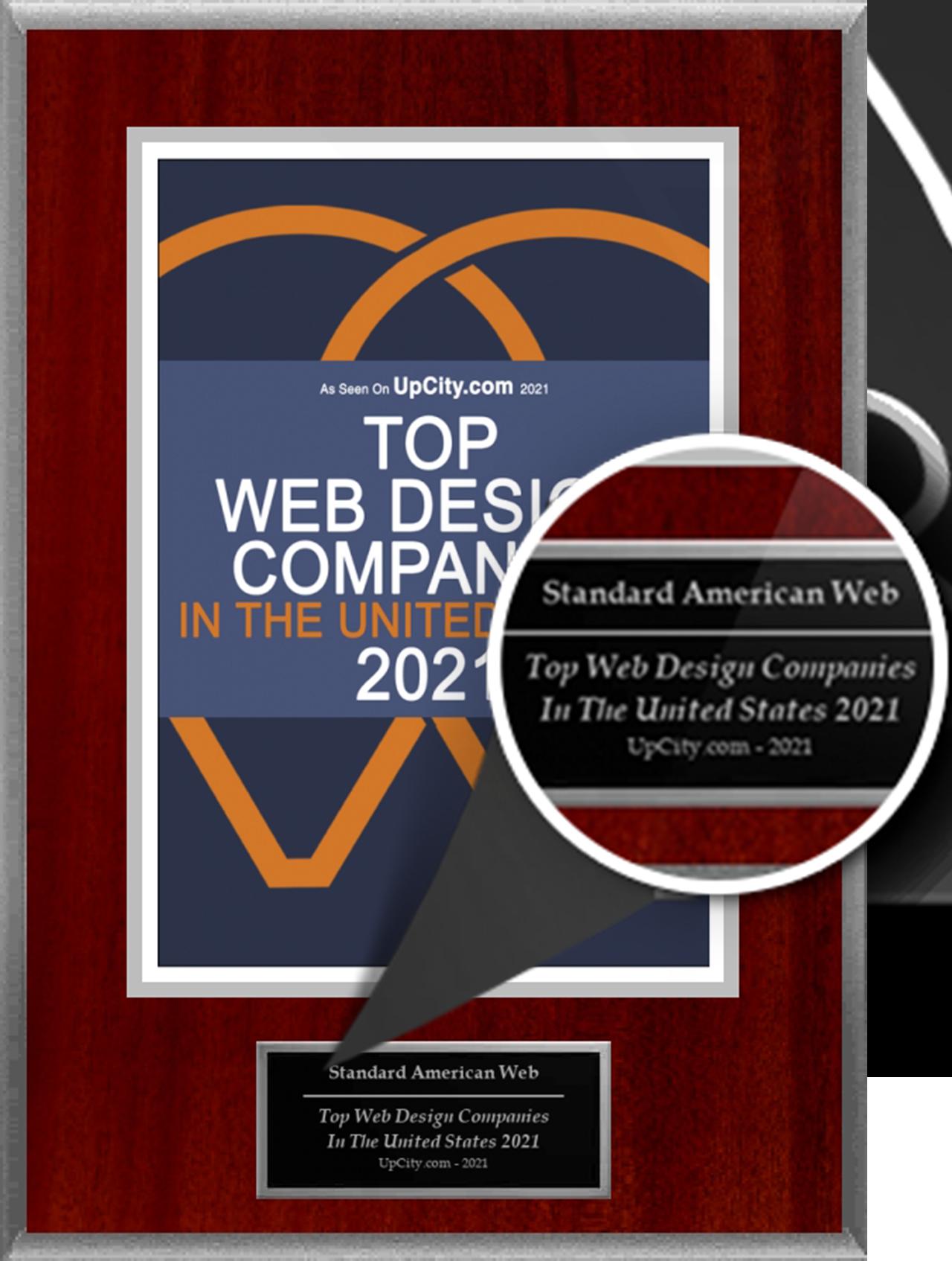 Top Web Designer winner